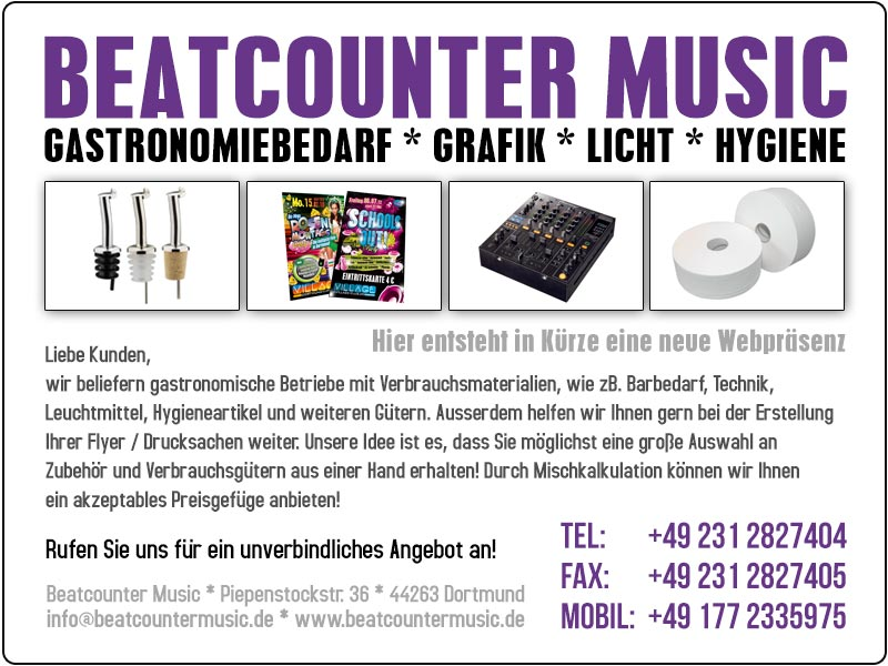 Beatcounter Music